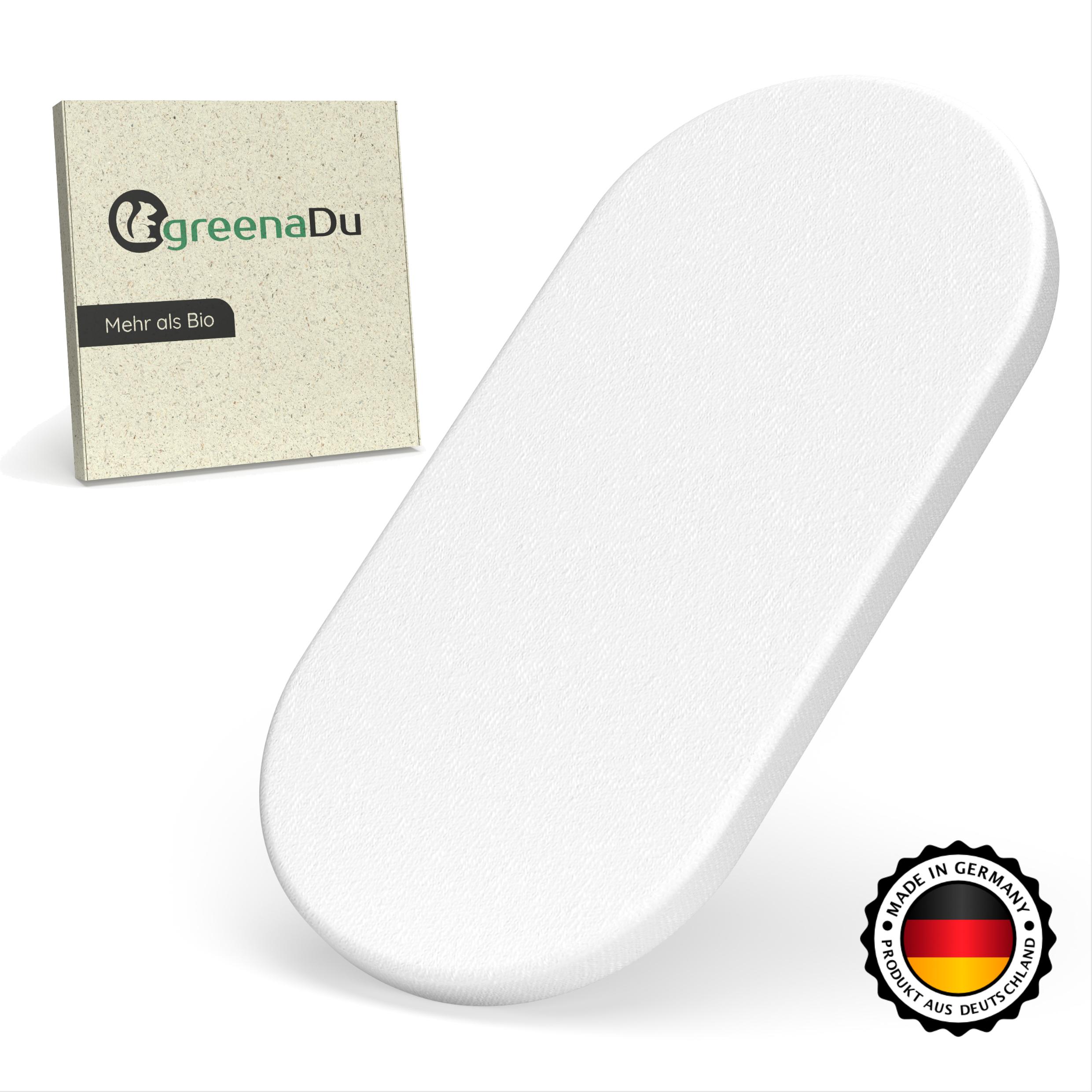 greenaDu Spannbettlaken aus Deutschland